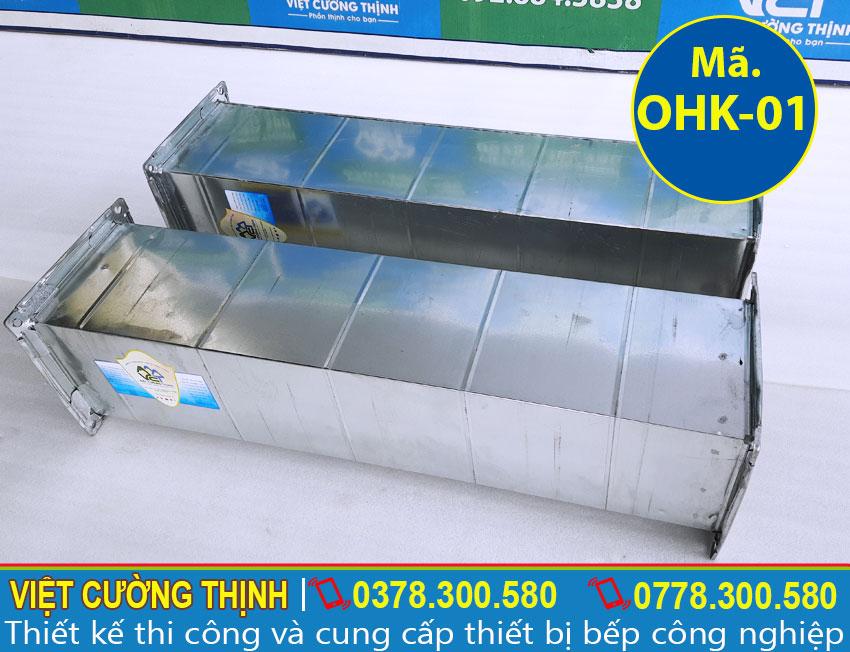 Việt Cường Thịnh sản xuất đường ống thoát khói, ống hút khói bằng inox 304 cao cấp và sang trọng.