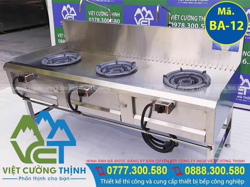 Mua bếp khè 3 họng, bếp công nghiệp 3 họng, bếp gas công nghiệp, bếp á 3 họng kiềng tô thấp áp chất lượng chính hãng.