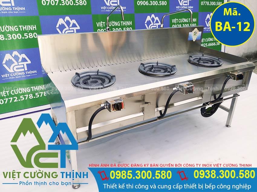 Việt Cường Thịnh - Địa chỉ mua bếp á 3 họng kiềng tô thấp áp, bếp khè 3 họng, bếp công nghiệp 3 họng chất lượng chính hãng.