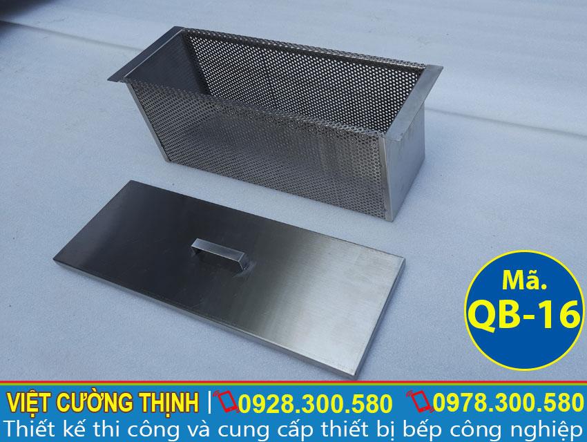 ngan úp ly Thùng đựng đá inox , Thùng chứa đá inox sản xuất tại Việt Cường Thịnh.
