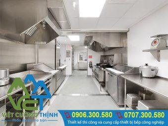 Việt Cường Thịnh đơn vị chuyên thi công và thiết kế hệ thống bếp công nghiệp, bếp nhà hàng uy tín chất lượng tại TP.HCM.