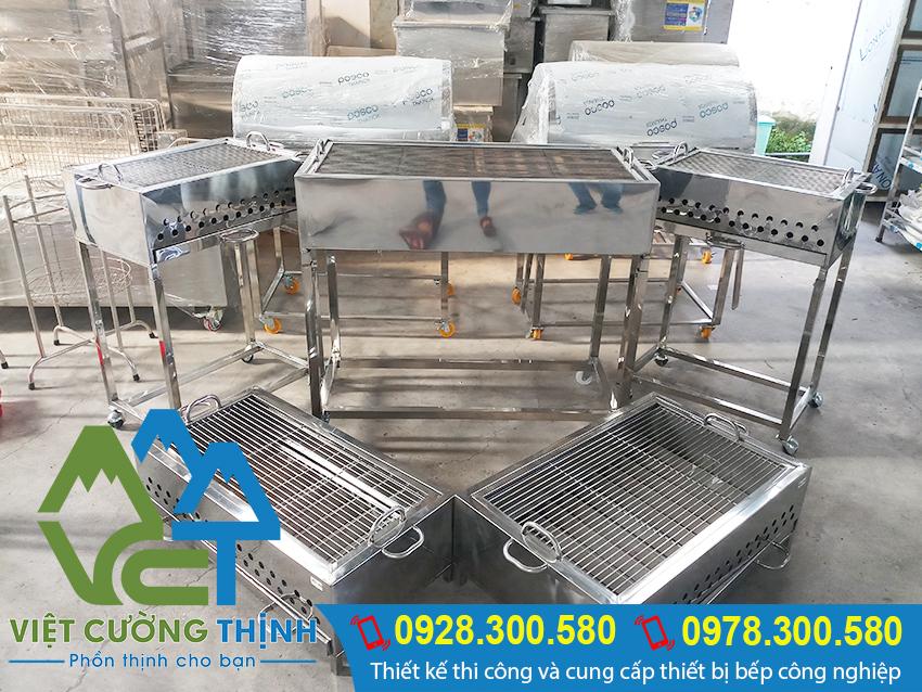 Việt Cường Thịnh chuyên cung cấp lò nướng inox, bếp nướng than inox