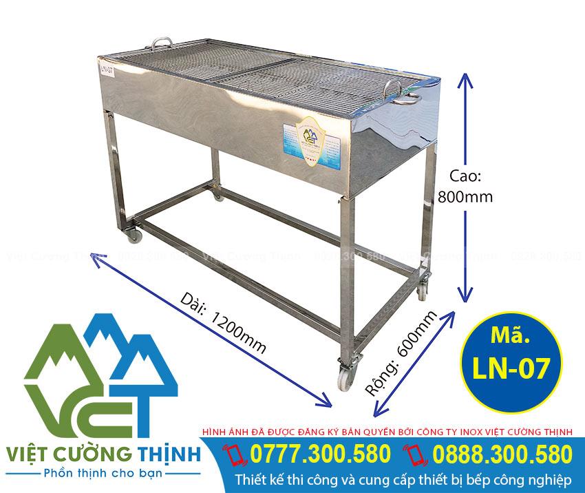 Lò nướng thịt bán cơm tấm LN-07