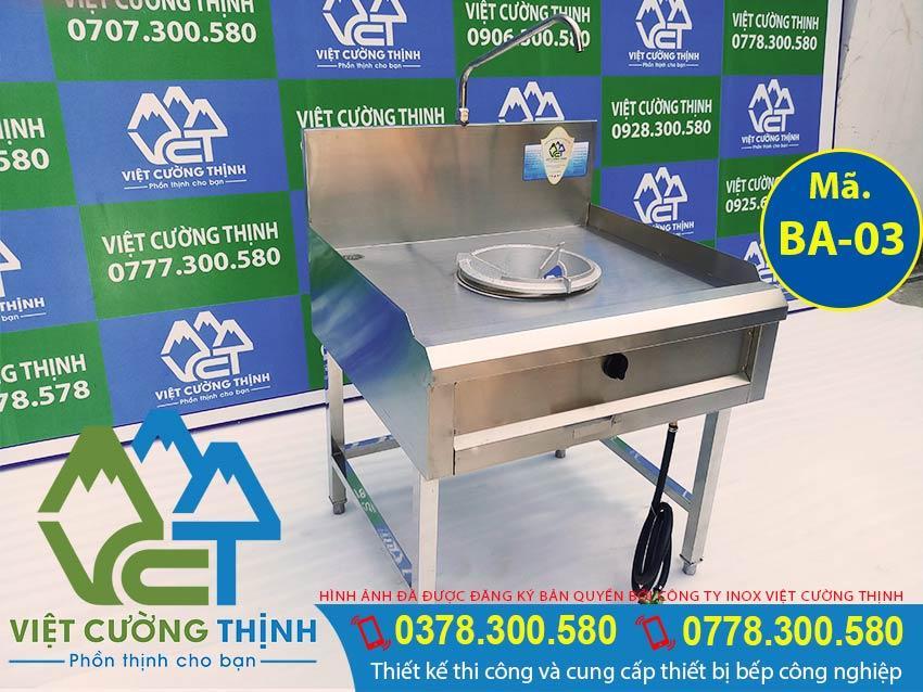 Bếp á công nghiệp, bếp á 1 họng cao cấp của Việt Cường Thịnh. Địa chỉ mua các Thiết bị bếp á công nghiệp giá tốt tại TPHCM