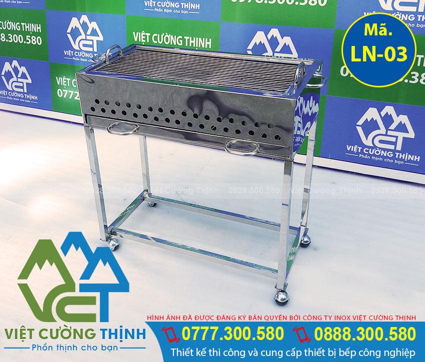 lò nướng BBQ inox LN-03