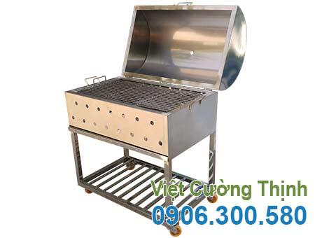 Lò nướng than inox BBQ LN-09