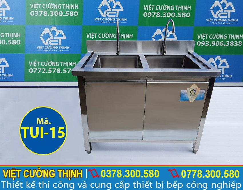tủ chén inox có bồn rửa tui-15