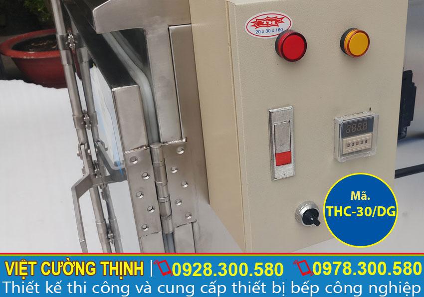 Cấu tạo của Tủ nấu cơm công nghiệp 30 kg bằng điện và gas cao cấp, đa năng và tiện dụng.