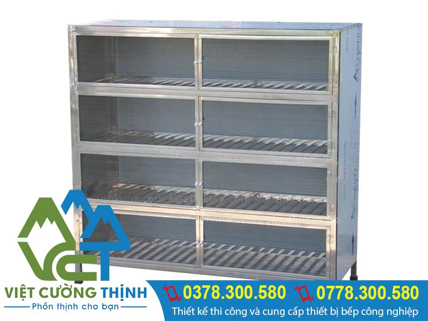 Đơn vị cung cấp sản phẩm tủ đựng chén bát bằng inox 304 uy tín