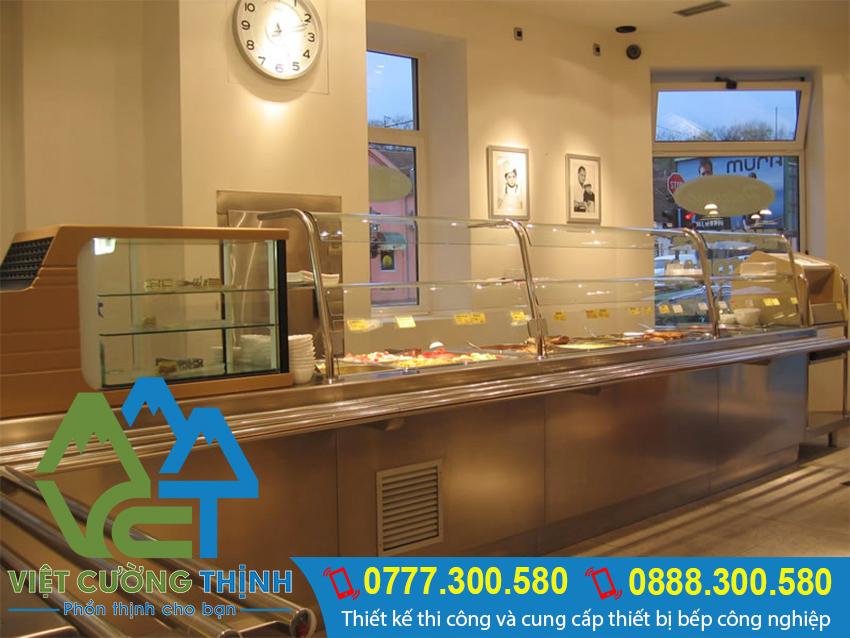 Tủ hâm nóng thức ăn 14 khay inox giúp cho người dùng có thể tiết kiệm được thời gian rất nhiều. Có thể hâm nóng cùng lúc 14 món.