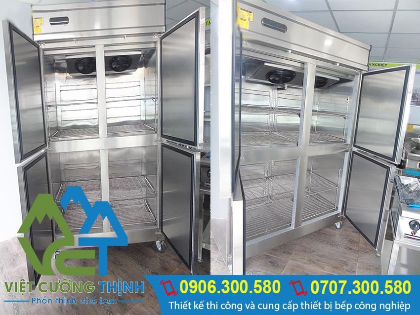 Tủ lạnh công nghiệp 4 cánh berjaya.