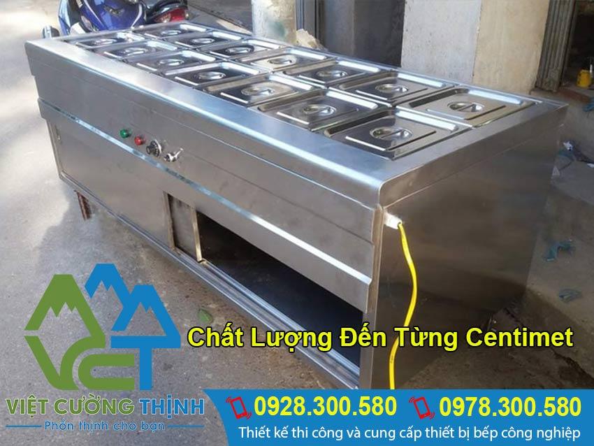 Quầy giữ nóng thức ăn chất lượng cao tại Việt Cường Thịnh