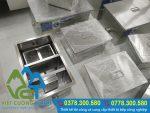 Bẫy mỡ inox là thiết bị bếp quan trọng cần thiết trong hệ thống xả thải công nghiệp.