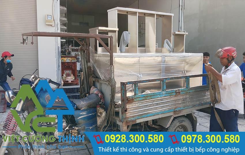 Hình ảnh giao hàng tại Việt Cường Thịnh