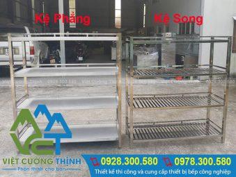 Kệ inox 4 tầng tại Việt Cường Thịnh