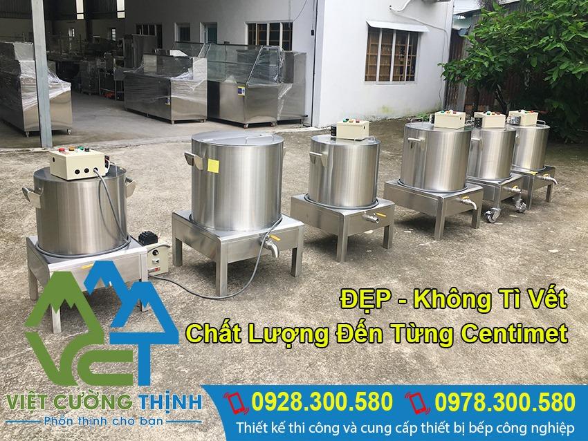 Nồi điện nấu phở của Việt Cường Thịnh đẹp, chất lượng và giá tốt