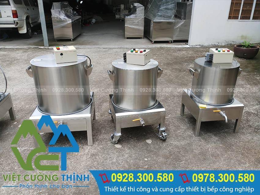 Nồi nấu phở bằng điện chất lượng tại Việt Cường Thịnh