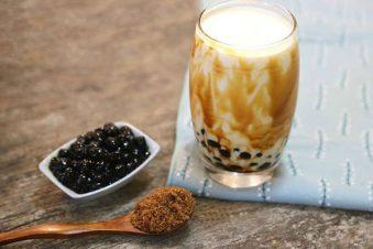 cách làm trà sữa trân châu đường đen