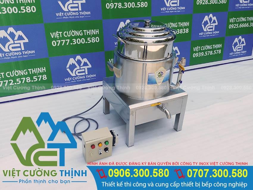 Báo giá nồi hấp bánh bao bằng điện, nồi điện hấp bánh bao, nồi hấp bánh bao sử dụng điện giá tốt tại xưởng VCT.