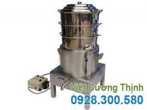 Nồi Hấp Bánh Bao 3 Tầng Bằng Điện NHBB-D400-3T
