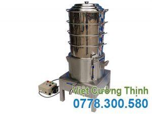 Nồi Hấp Bánh Bao Điện Công Nghiệp 4 Tầng NHBB-D500-4T