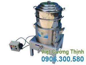 Nồi Hấp Bánh Bao Bằng Điện 2 Tầng NHBB-D500-2T
