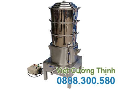 Nồi Điện Hấp Cơm Tấm 3 Tầng NHCT-D440-3T