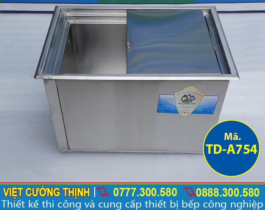 Việt Cường Thịnh - Địa chỉ bán thùng đá inox âm bàn cao cấp, chất lượng và chính hãng tại TPHCM.