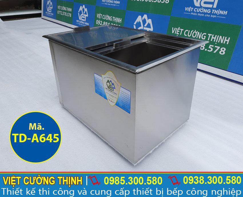 Đơn vị bán thùng đá inox âm bàn cao cấp, chất lượng và chính hãng tại TPHCM.