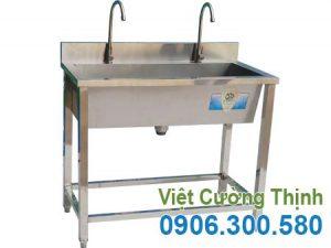 Máng Rửa Tay Inox Công Nghiệp 1m CR-15