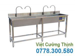 Máng Rửa Tay Inox Công Nghiệp 2m CR-14