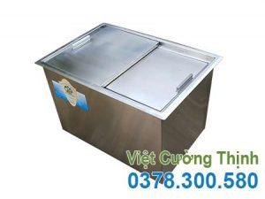 Kích thước thùng đá inox | thùng đựng đá lạnh | Thùng giữ lạnh inox | thùng đá inox quầy bar | thùng đá giữ lạnh lâu | thùng đá inox âm bàn