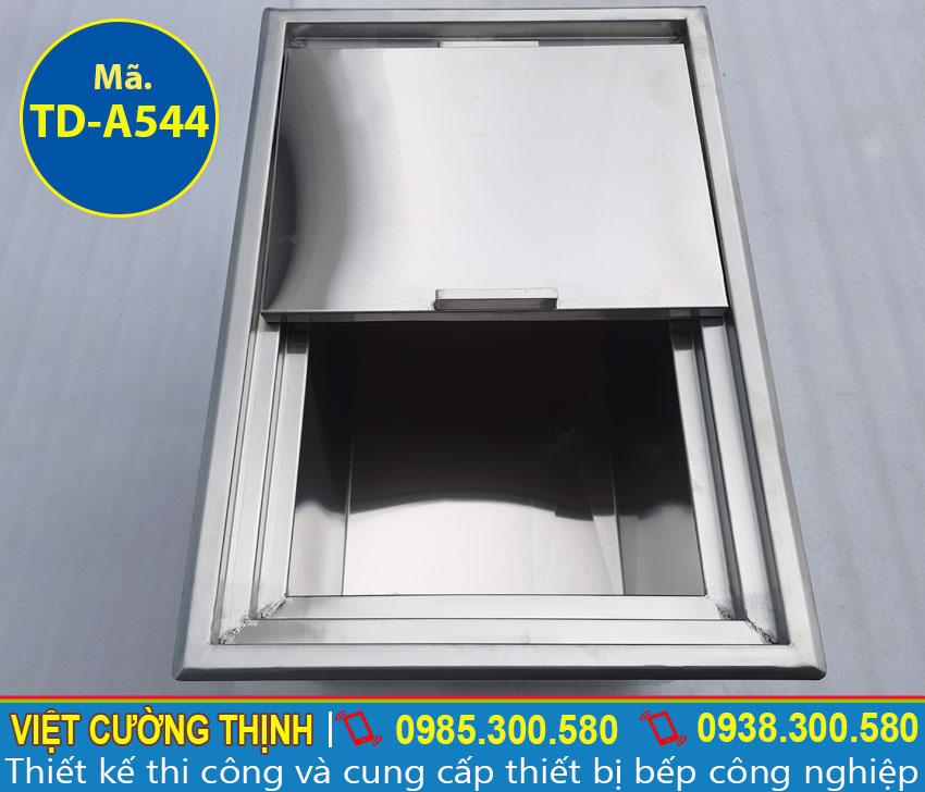 Địa chỉ bán thùng đá inox âm bàn cao cấp, chất lượng và chính hãng tại TPHCM.
