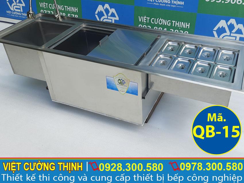 Công dụng thùng đá inox | thùng đá giữ lạnh | thùng chứa đá âm bàn | thùng giữ đá | tủ đá inox quầy bar | hộp đựng đá lạnh