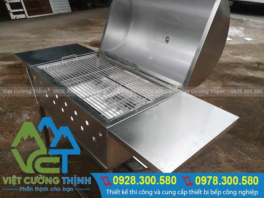 Sản phẩm Lò nướng than inox luôn đảm bảo các yếu tố vệ sinh an toàn thực phẩm.