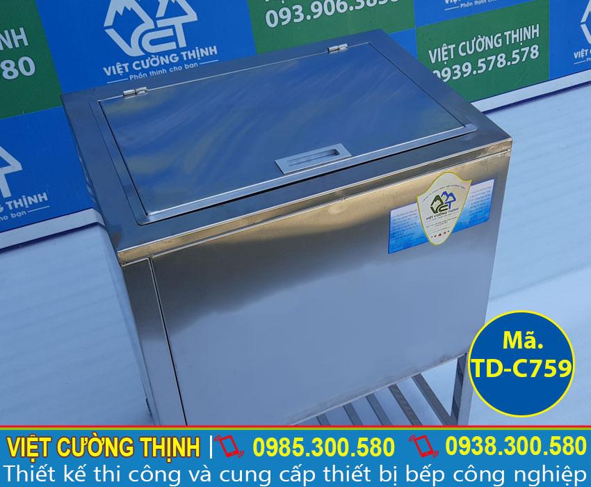 thùng đá inox | thùng đựng đá lạnh | Thùng giữ lạnh inox | thùng đá inox quầy bar | thùng đá giữ lạnh lâu