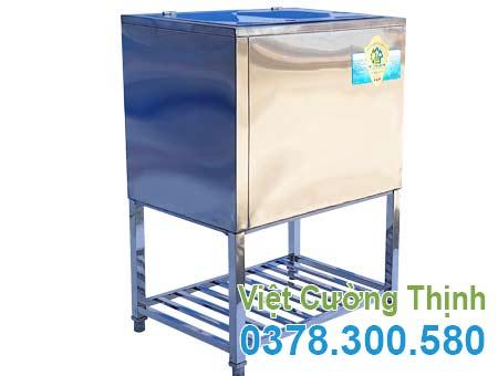thùng đá, thùng đá inox 304, thùng đựng đá inox, thùng đá inox, thùng đá inox quầy bar, thùng đá inox âm bàn, thùng đá inox giá rẻ, thùng đựng đá inox giá rẻ sản xuất Inox Việt Cường Thịnh.