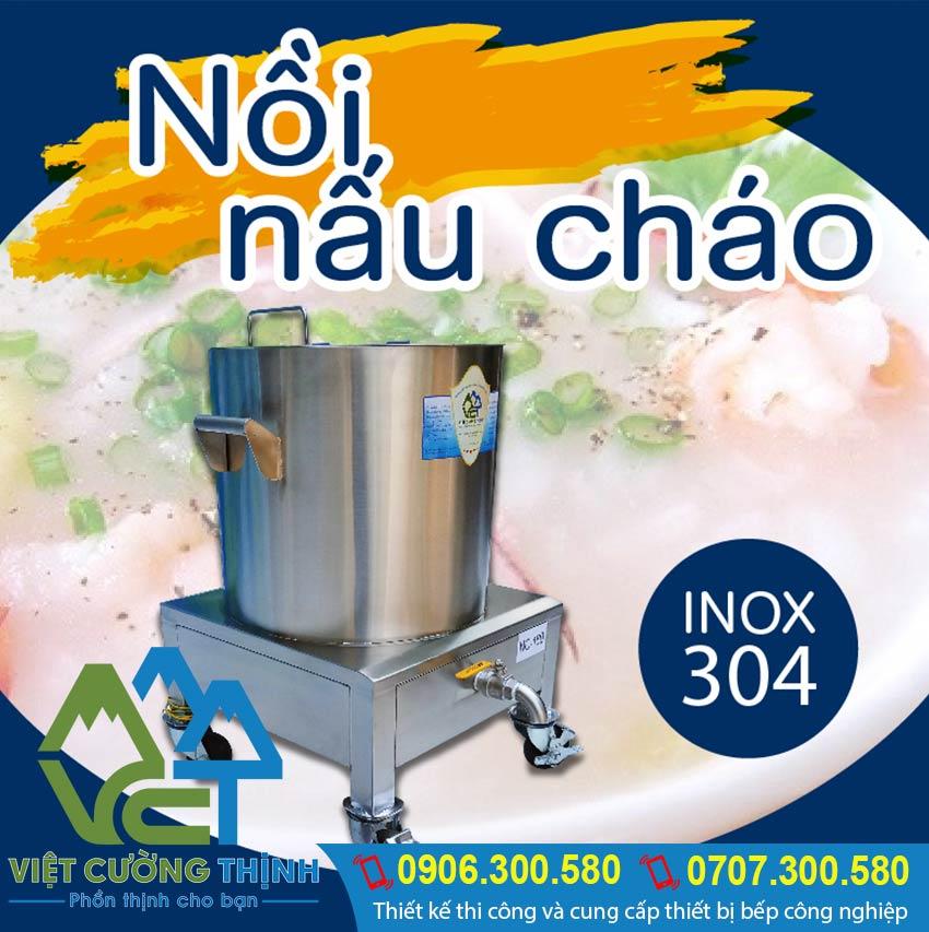 Nên mua Nồi cháo điện, Nồi hầm cháo bằng điện tại Inox Việt Cường Thịnh để được tư vấn tận tình và chu đáo.