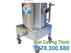 nồi nấu cháo bằng điện, nồi hầm cháo bằng điện, nồi điện nấu cháo dinh dưỡng inox cao cấp sản xuất Việt Cường Thịnh.