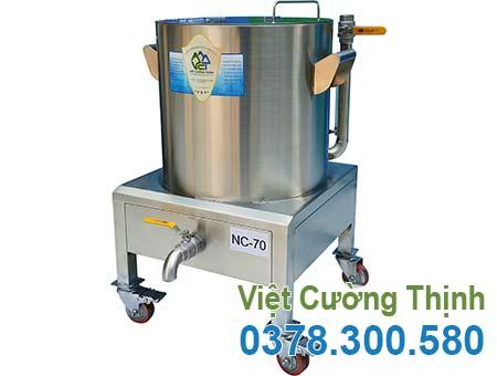 Nồi hầm cháo bằng điện, Nồi nấu cháo bằng điện cao cấp sản xuất Inox Việt Cường Thịnh.