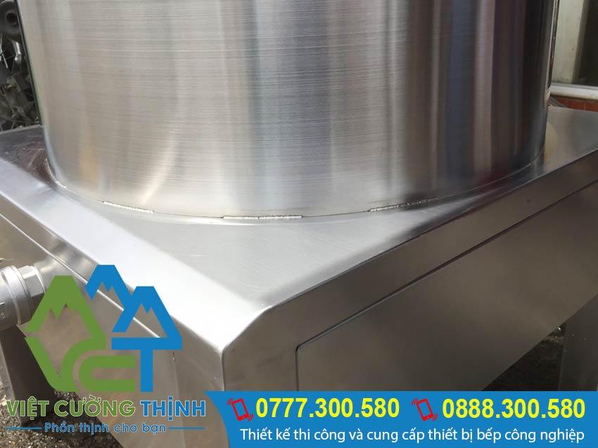 Nồi điện nấu cháo sản xuất Inox Việt Cường Thịnh đảm bảo chất lượng và đa dạng mẫu mã.