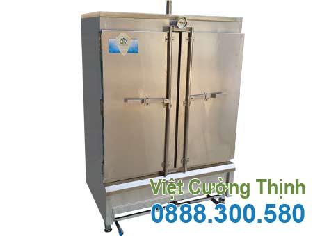 Mẫu tủ hấp cơm công nghiệp | Tủ nấu cơm công nghiệp 80 kg sử dụng gas sản xuất Việt Cường Thịnh.