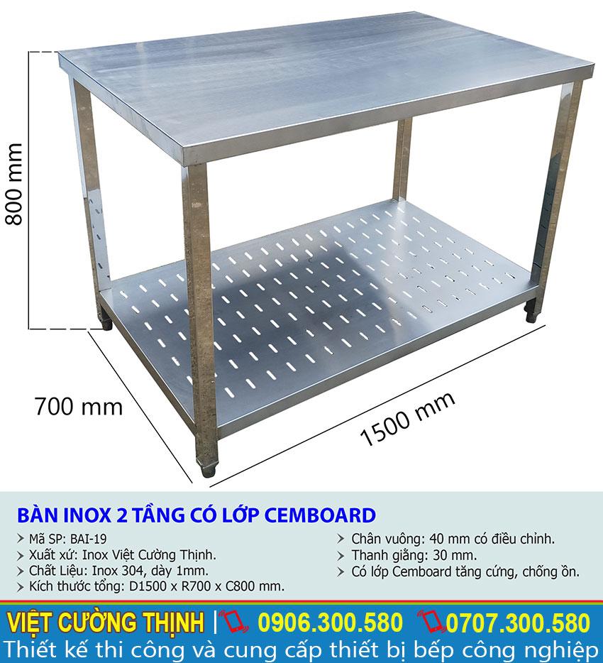 | bàn inox 304 | bàn bếp inox | bàn inox