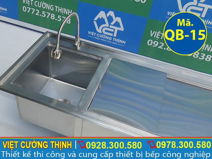 Vòi nước Thùng đựng đá inox , Thùng chứa đá inox sản xuất tại Việt Cường Thịnh.