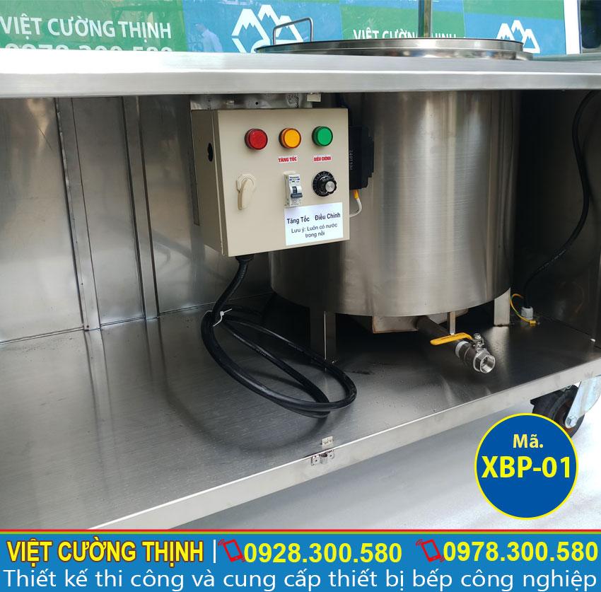 Công tắc điều chỉnh độ sôi của nồi nước lèo bạn sẽ vừa tiết kiệm được điện năng sử dụng trong quá trình đun nấu