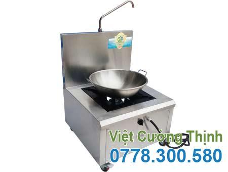 Bộ chảo chiên và bếp gas inox 304 cao cấp sản xuất Inox Việt Cường Thịnh.