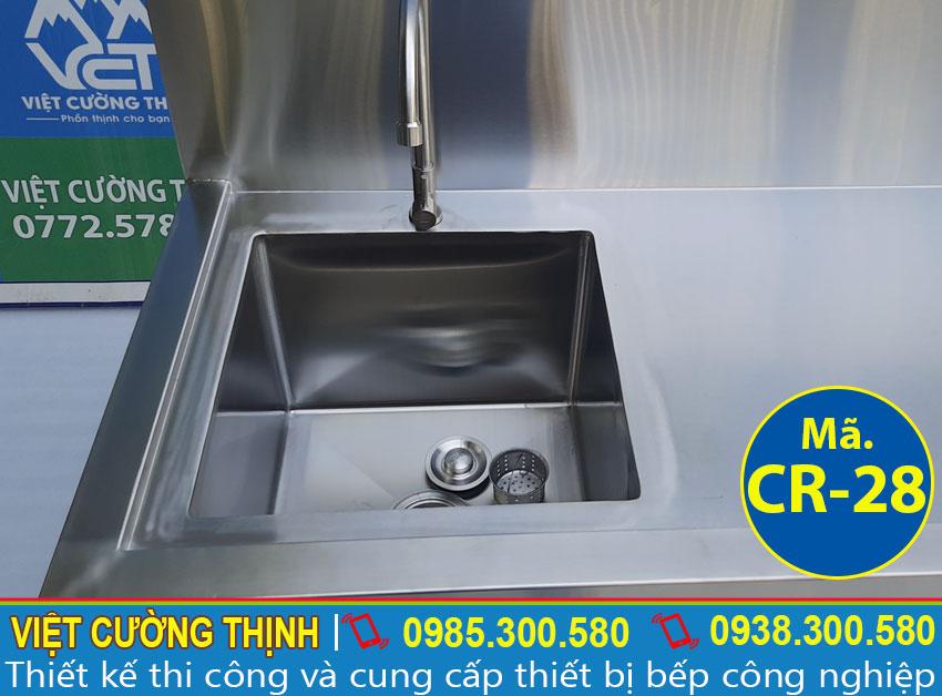Việt Cường Thịnh - Đơn vị cung cấp chậu rửa đơn inox công nghiệp, bồn rửa đơn inox 304 cao cấp và sáng bóng.