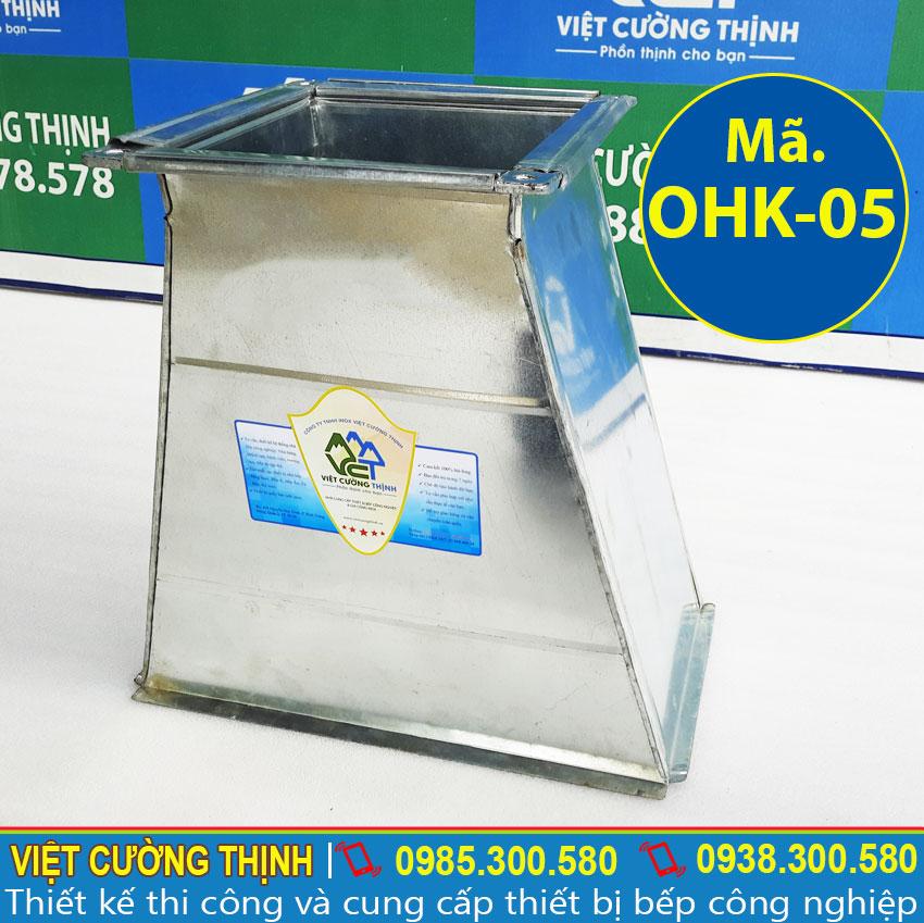 Co nối ống hút khói, ống thoát khói inox, ống nối máy hút mùi sản xuất Inox Việt Cường Thịnh.