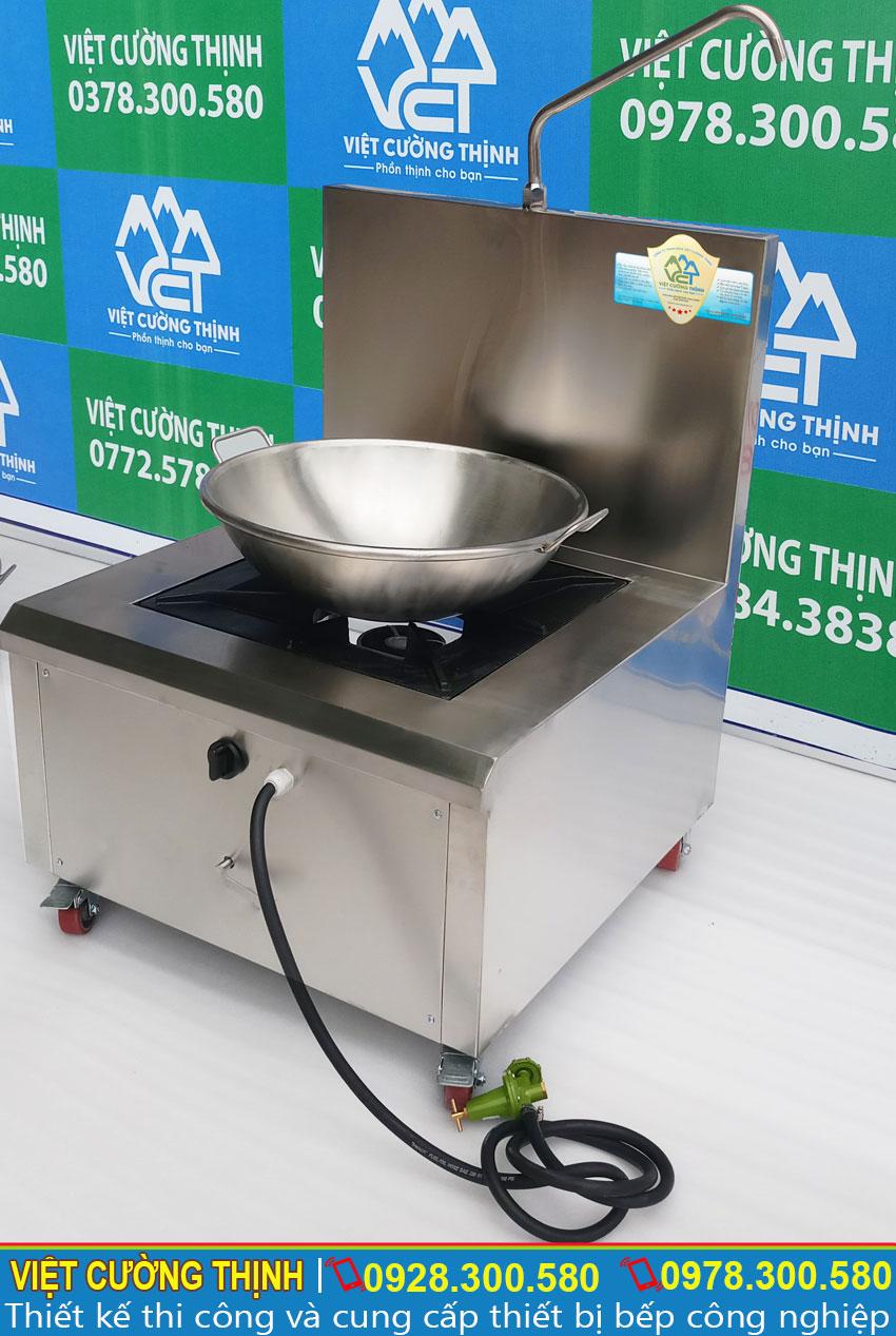 Báo giá chảo chiên inox và bếp gas inox tại TPHCM.