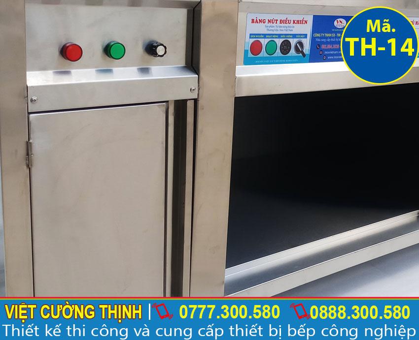 Học tủ hâm nóng thức ăn, tủ giữ nóng thức ăn giúp săp xếp chén bát và dụng cụ bếp